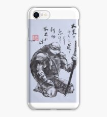 Leonardo Bushido iPhone Case/Skin
