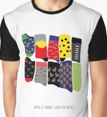 Home is where I have my socks... Graphic T-Shirt