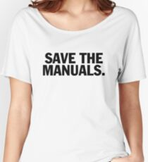 Save the manuals T-shirt. Limited edition design! Women's Relaxed Fit T-Shirt