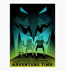 Adventure Time Fan Art Photographic Print