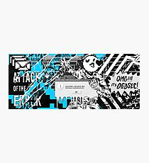 WATCH_DOGS 2 - DedSec (ATTACK OF THE ERROR) Photographic Print