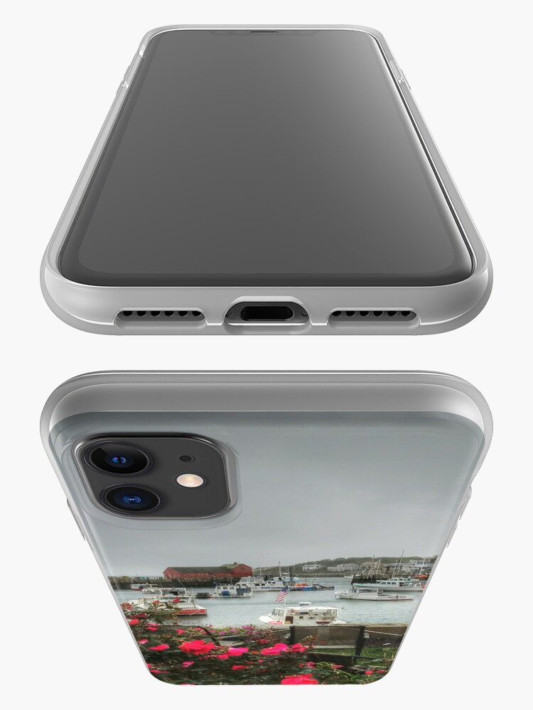 Alternate view of Rockport and Roses iPhone Case & Cover