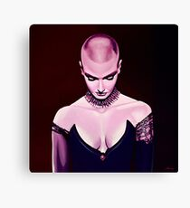 Sinead O'Connor Painting Canvas Print