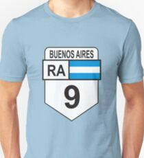 National Route 9 (Argentina) T-Shirt