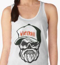 Winterhill Gang Boston Mass. Hipster Skull Trucker Cap Death Women's Tank Top