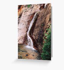 Seven Falls, Colorado Greeting Card