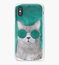 Hairy hipster iPhone Case/Skin