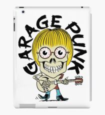 Garage Punk Guy iPad Case/Skin