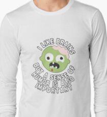 Zombie Sense Of Humor T-Shirt