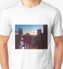 New York City (NYC) Times Square Ball at Sunset Unisex T-Shirt