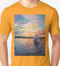 Sunrise in Oslo Unisex T-Shirt