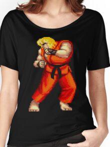 Street Fighter 2 Ken Women's Relaxed Fit T-Shirt