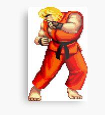 Street Fighter 2 Ken Metal Print