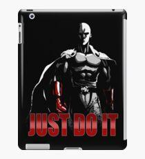 Saitama - Just do it  iPad Case/Skin