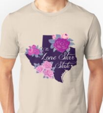 State Sayings - Texas is the Lone Star State T-Shirt