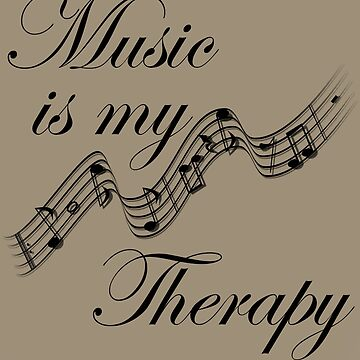 Music is My Therapy by gharkness