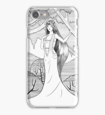 Lady of the Woods iPhone Case/Skin