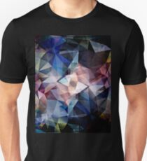 Textured Triangle Abstract T-Shirt