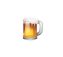 Beer Emoji iPhone cases & covers for XS/XS Max, XR, X, 8/8 Plus, 7/7