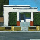 Pomona House (Abstract) by Michael Ward