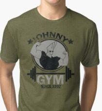 Johnny Fitnessstudio Vintage T-Shirt