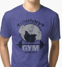 Johnny Gym Tri-blend T-Shirt