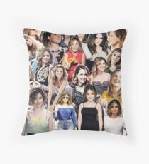 sophia bush collage Throw Pillow