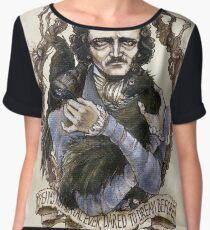 Edgar Allan Poe & Friends Women's Chiffon Top