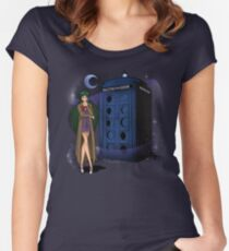 Sailor Time Lord Women's Fitted Scoop T-Shirt