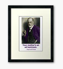 Oedipus Complex (feat. Sigmund Freud) Framed Print