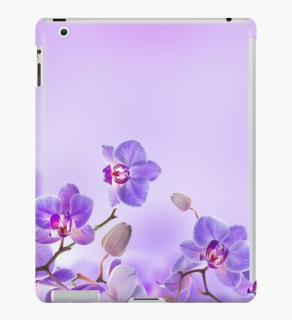 Flowers Art Abstract iPad Case/Skin