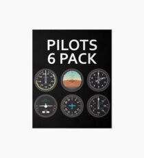 Pilots Six Pack. Art Board