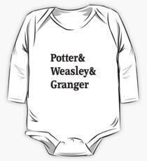Potter, Weasley, Granger One Piece - Long Sleeve