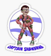 Captain Shawarma Sticker