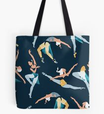 Suspended Rhythm Tote Bag