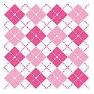 Pink Argyle by Lisann
