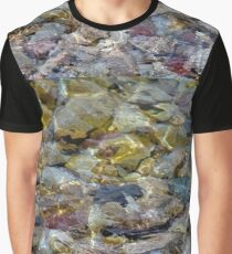 Rocky Shoreline of The Soo Graphic T-Shirt