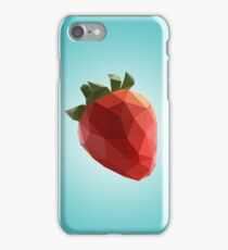 Polygon Strawberry iPhone Case/Skin