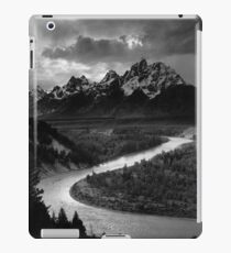 Ansel Adams - Grand Tetons and Snake River iPad Case/Skin