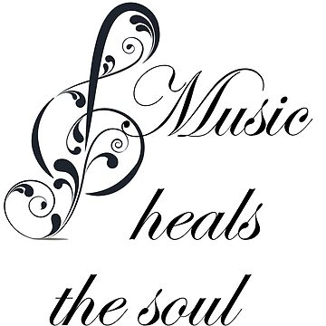 Music Heals the Soul  by gharkness