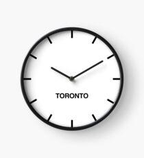 Toronto Time Zone Newsroom Wall Clock Clock