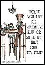 Would you like an adventure? by Jenny Wood