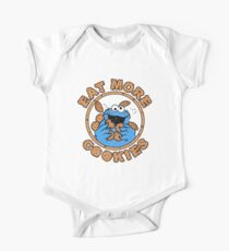 Cookie monster - Eat MORE Cookies Kids Clothes