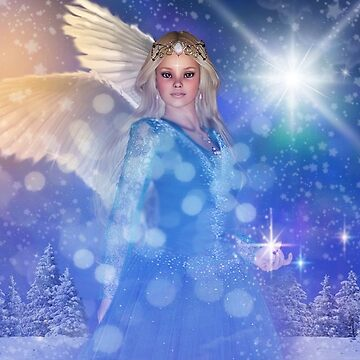 Christmas Angel by angelsoulart