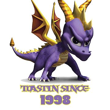Spyro The Dragon Toastin' by Rainbowdropz