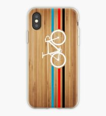 Bike Stripes Velodrome iPhone Case