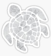 Marble Sea Turtle Sticker