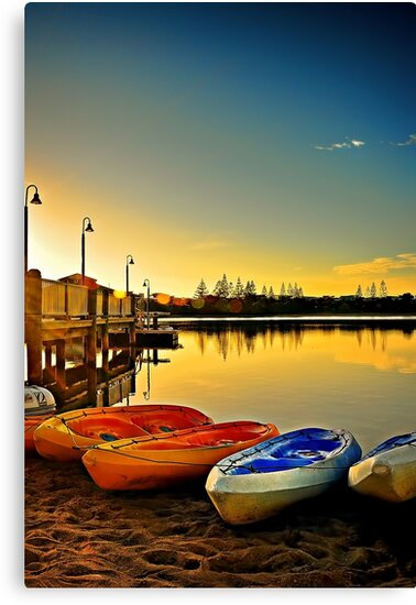 Kayaks by Tracie Louise