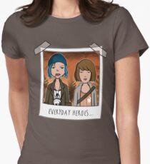 Sick strange world Women's Fitted T-Shirt