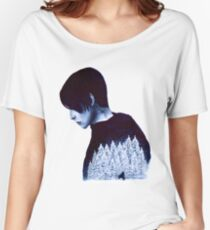 What's Hidden In Snow Women's Relaxed Fit T-Shirt